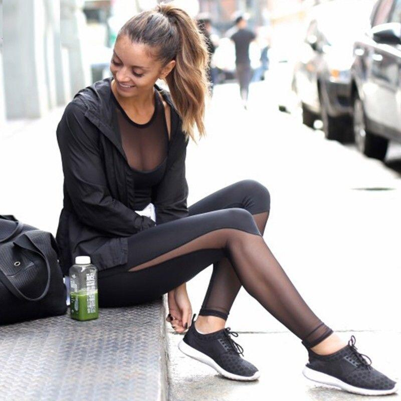 legging noir transparent