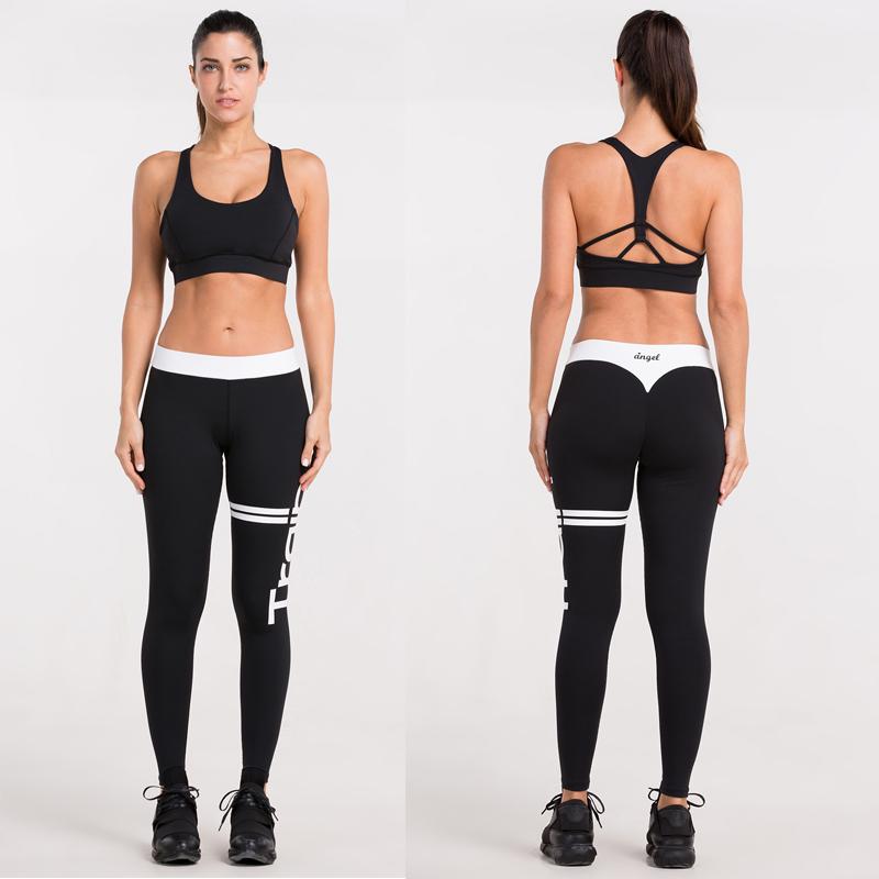 Legging Fitness Femme Taille Pour La Muscu Et Le Crossfit