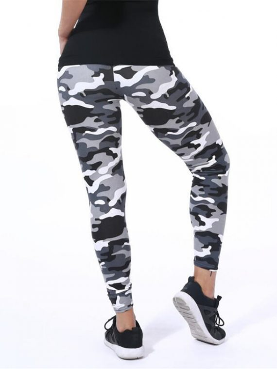 legging sport camouflage femme