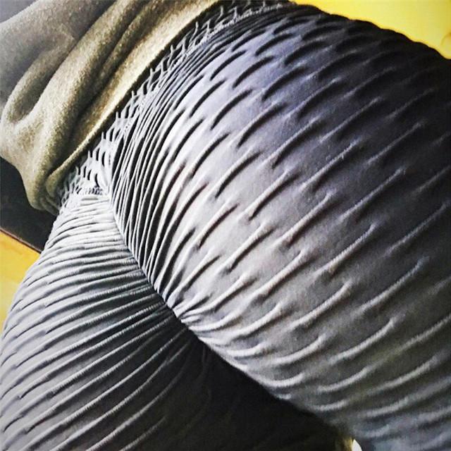 legging anti cellulite noir push up