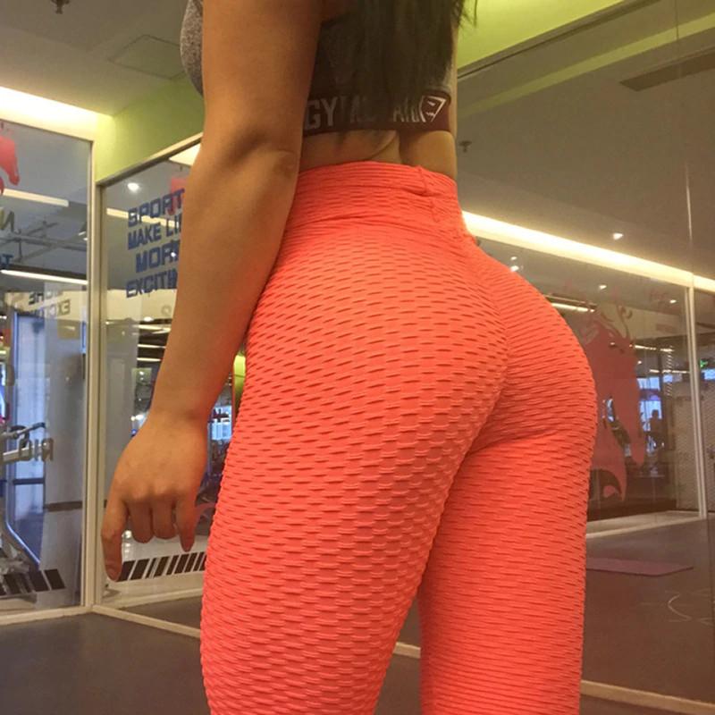 legging anti-cellulite orange