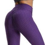 legging anti cellulite violet