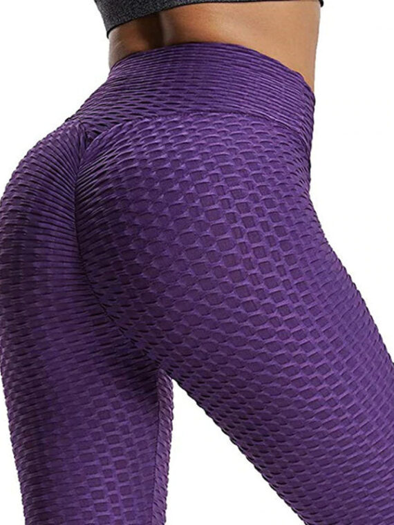 legging anti cellulite violet