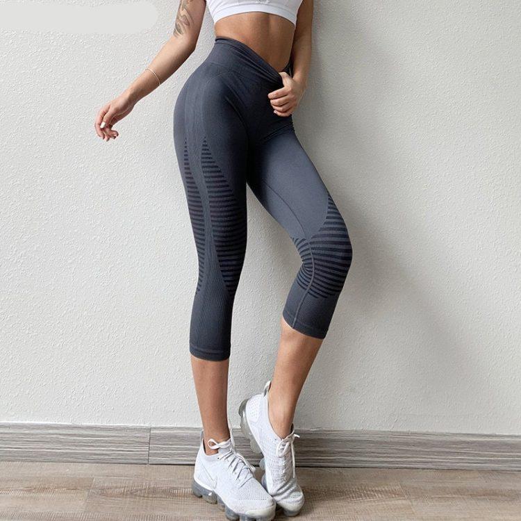 Legging court sport femme