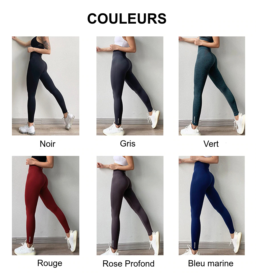Legging French Fit Taille Haute