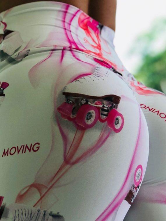 Legging imprimé Push Up femme