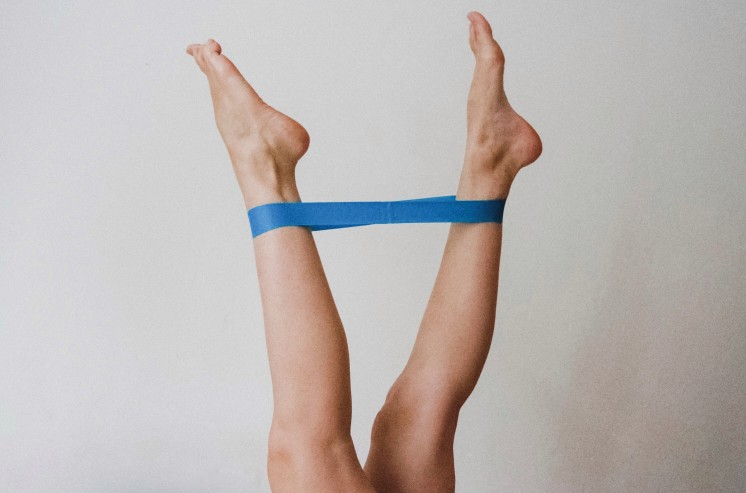 Exercice avec bande de résistance