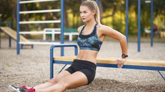 Dips sur Chaise: Exercices Pour muscler vos triceps et retrouver des bras fermes