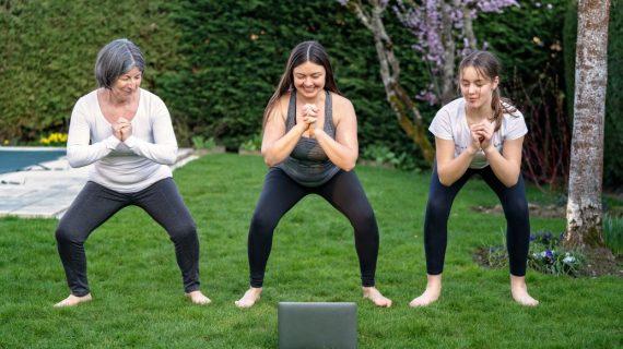 Jeu Parcours Fitness pour faire du sport à la maison