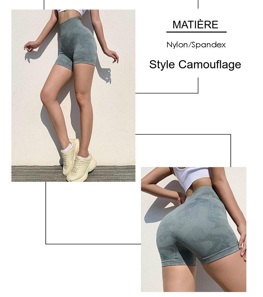 Short fitness femme