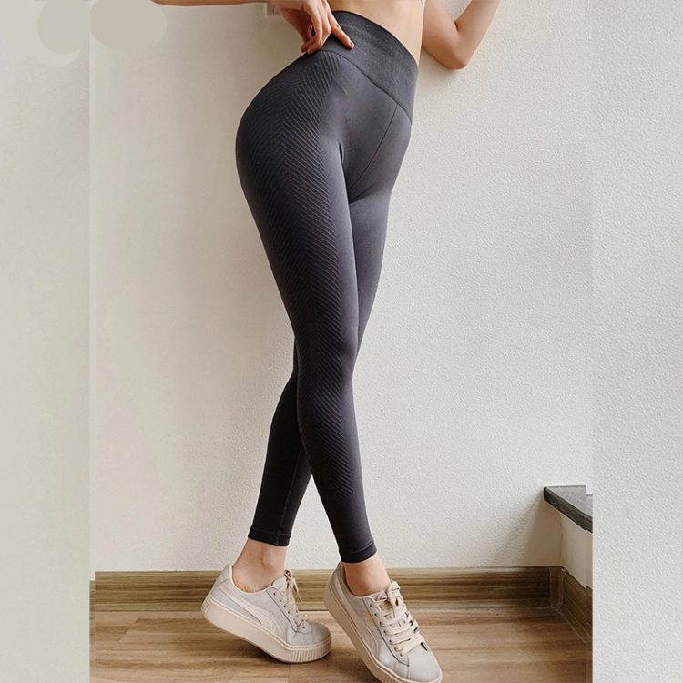Legging yoga femme sans couture