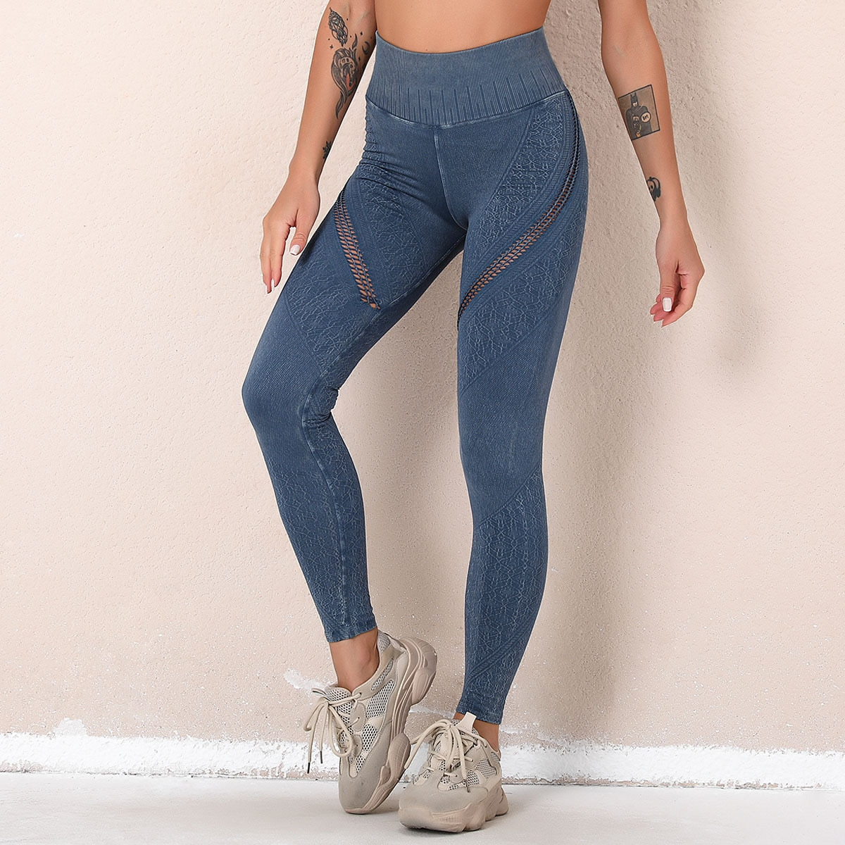 legging imitation jean